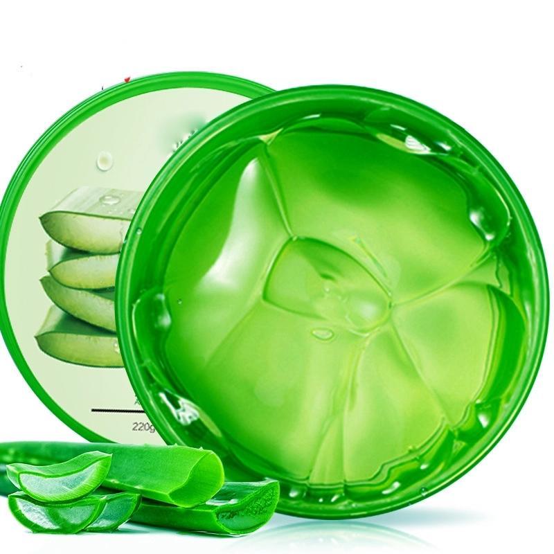 Nature Aloe Vera Gel 92% smoothing moisture cream purealoeveragelforface 300g OMT-5386