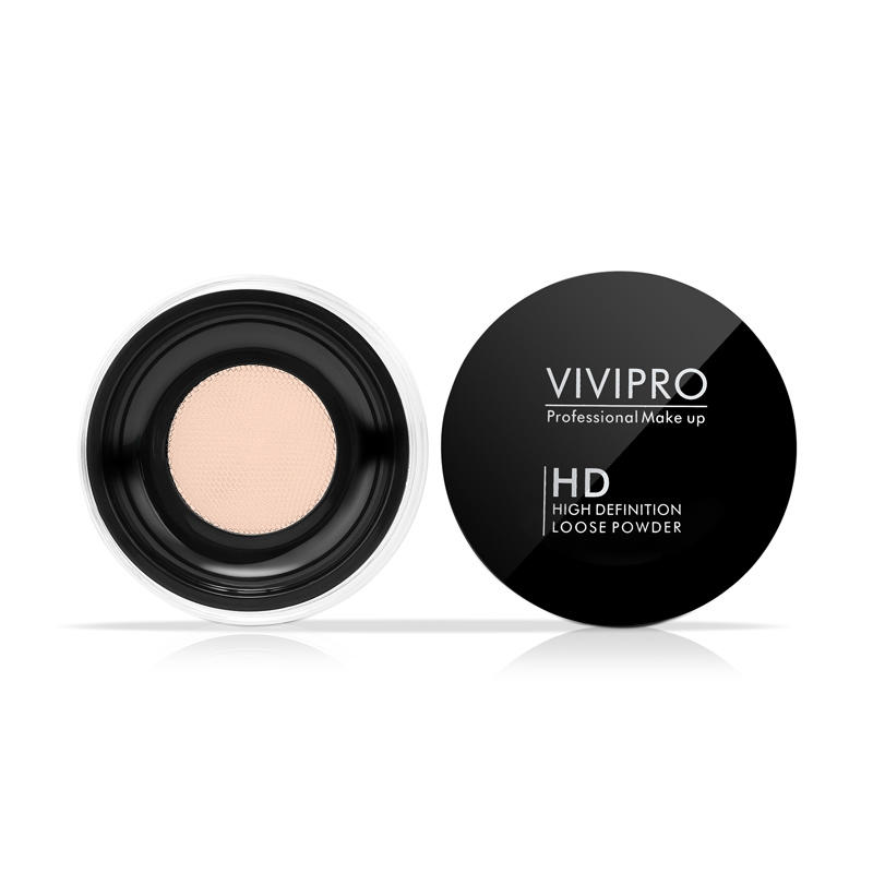 Face makeup powder foundation toner mineral cosmetics finishing loose powder with Net Sifter VIVI-H009
