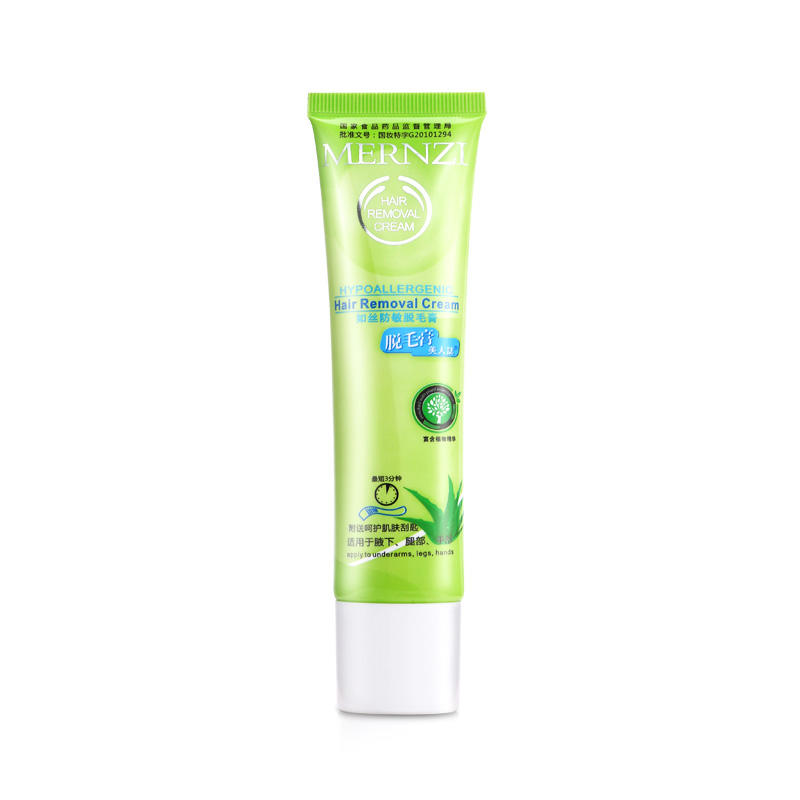 Latest skin hair removal cream painless supply for face