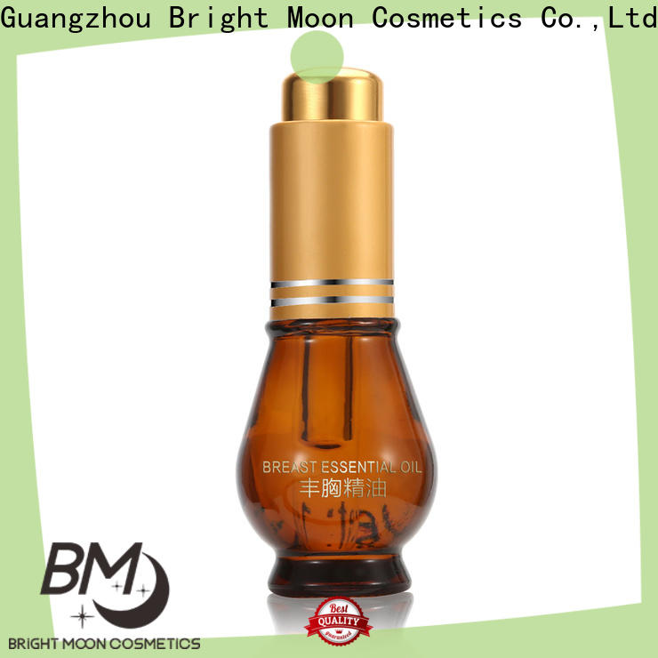 Bright Moon herbs breast enlargement oil manufacturers for cosmetic industry