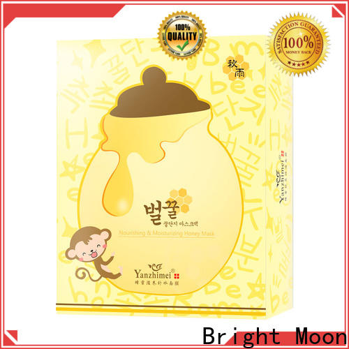 Bright Moon nourishing beauty face mask manufacturers for ladies