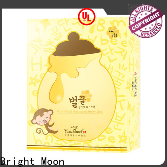 Bright Moon Custom cotton face mask manufacturers for lips
