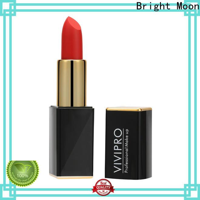 Bright Moon tube matte lipstick supplier company for girls