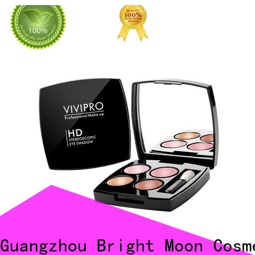 Bright Moon rich luxurious colors eye makeup cosmetics company for skincare