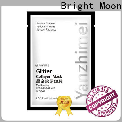 Bright Moon whitening beauty face mask factory for girls