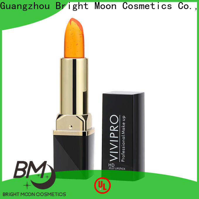 Bright Moon lipstick waterproof lipstick factory for girls