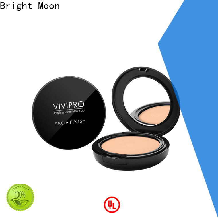 Bright Moon single color concealer powder foundation supply for cosmetic industry