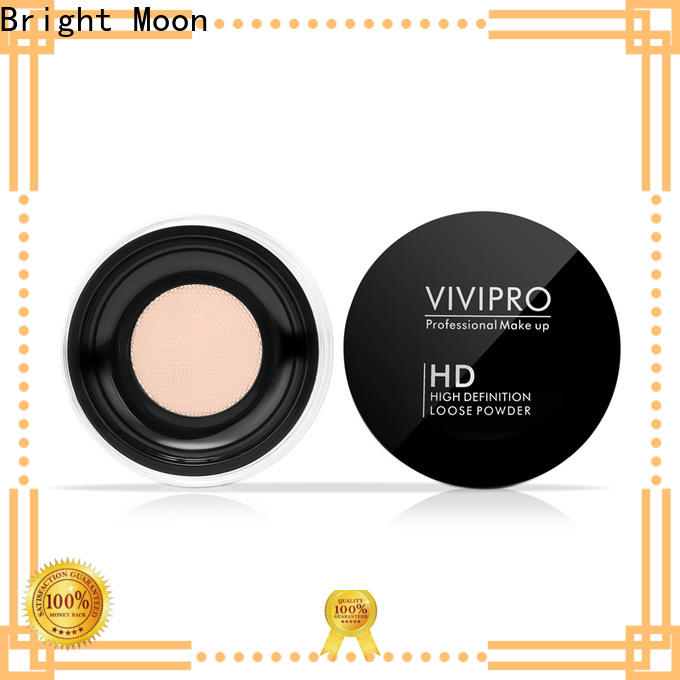 Bright Moon puff powder blusher supply for cosmetic industry