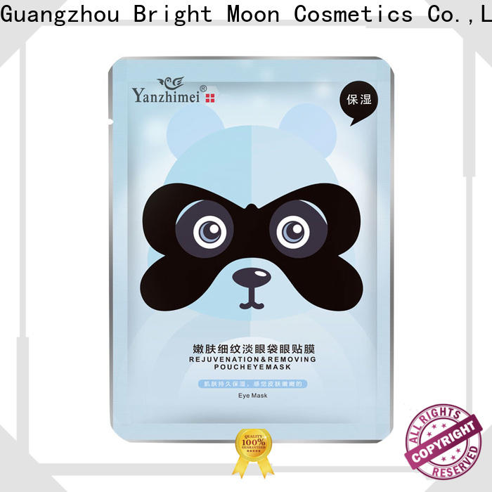 Bright Moon bamboo charcoal eye care product for business facial cover