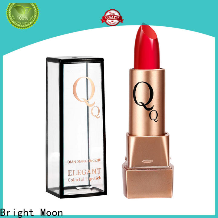 Bright Moon changeable matte lipstick supplier company for lips