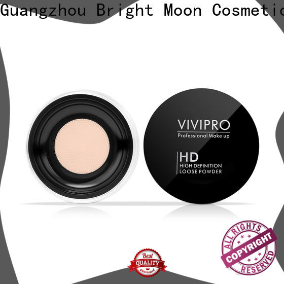 Bright Moon foundation loose powder makeup for business for cosmetic industry