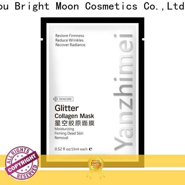 Bright Moon Best beauty mask factory for ladies