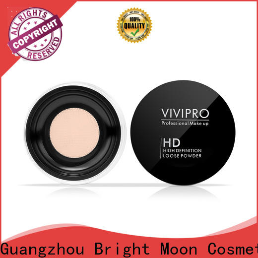 Bright Moon Top loose powder highlighter manufacturers facial cover
