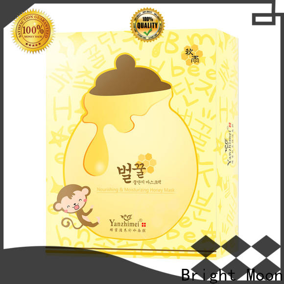 Bright Moon high energy cotton face mask factory for girls