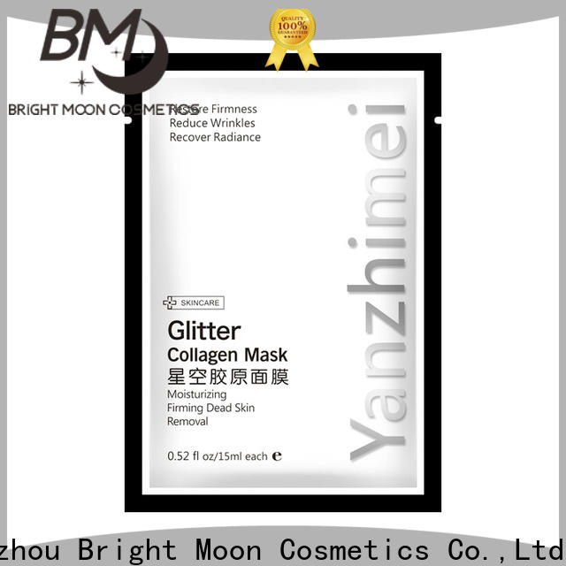 Bright Moon Best face mask sheet company for ladies