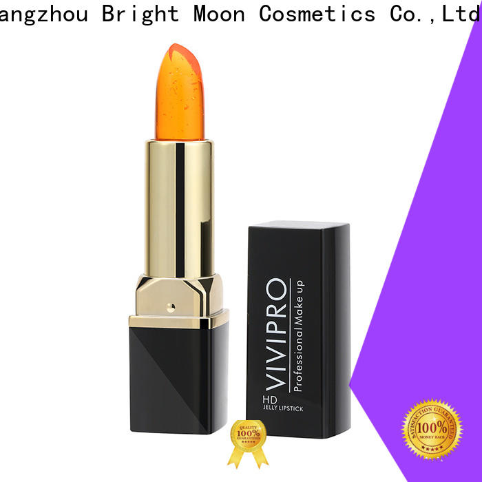 Bright Moon tube long stay lipstick factory for girls