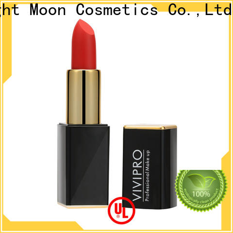 Bright Moon Custom waterproof lipstick for business for ladies