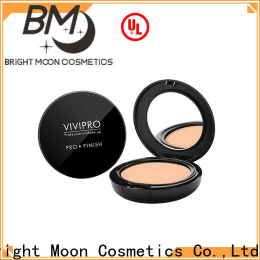 Bright Moon full coverage face powder suppliers for cosmetic industry