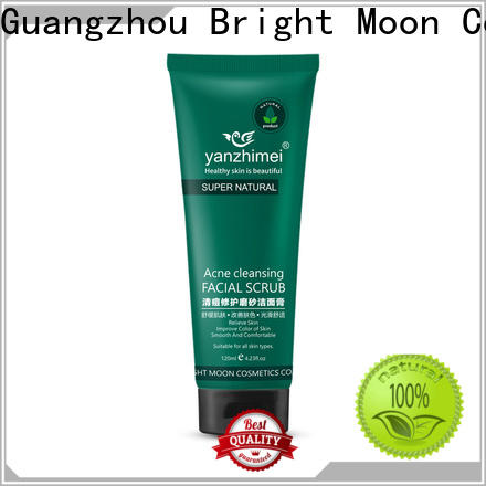 Bright Moon foam cleanser cosmetic cleanser suppliers for facial cleansing
