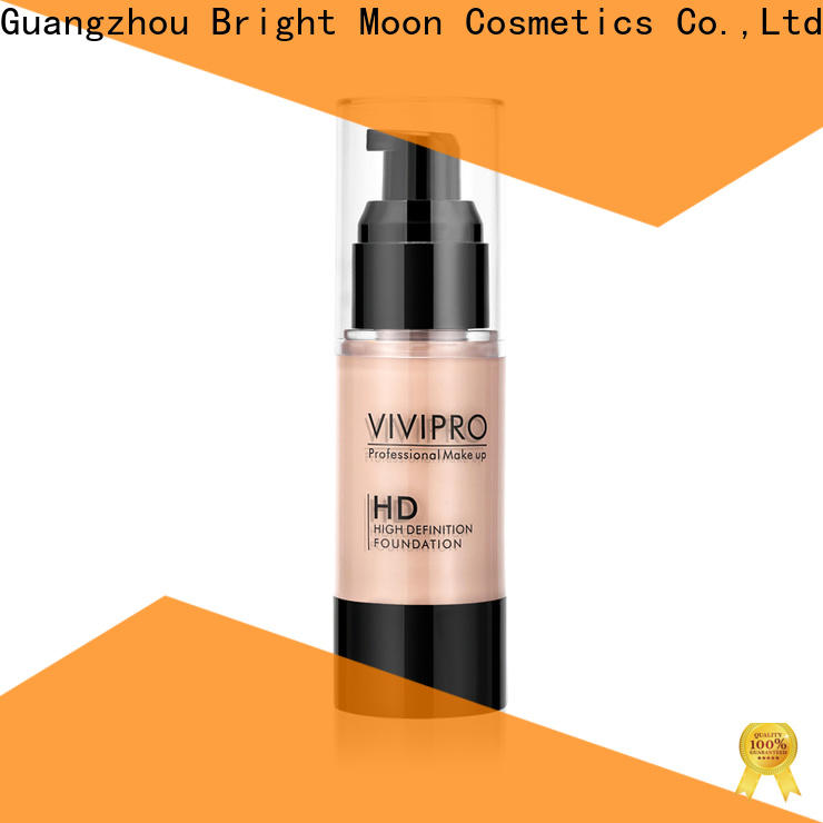 Bright Moon puff loose powder brush suppliers for cosmetic industry