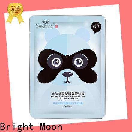 Bright Moon transparent eye skin care products supply facial cover