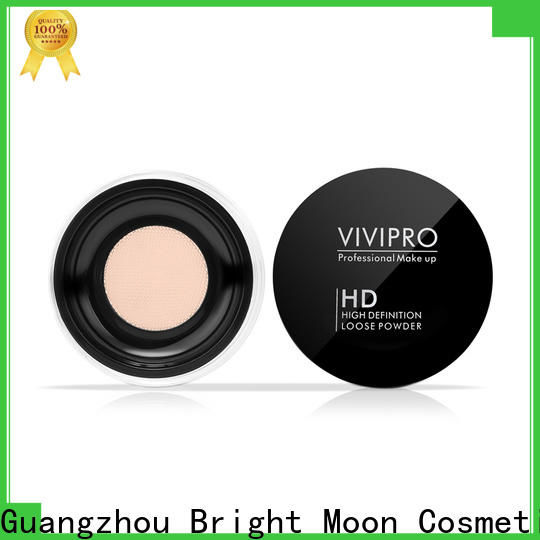 Bright Moon Custom loose powder makeup factory for cosmetic industry