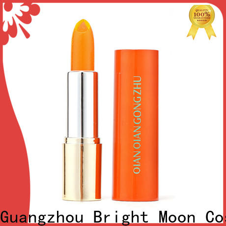 Bright Moon long lasting waterproof lipstick suppliers for ladies