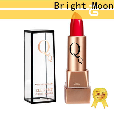 Bright Moon magnet long lasting waterproof lipstick supply for ladies