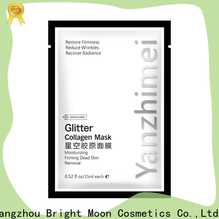 Bright Moon whitening cotton face mask suppliers for lips