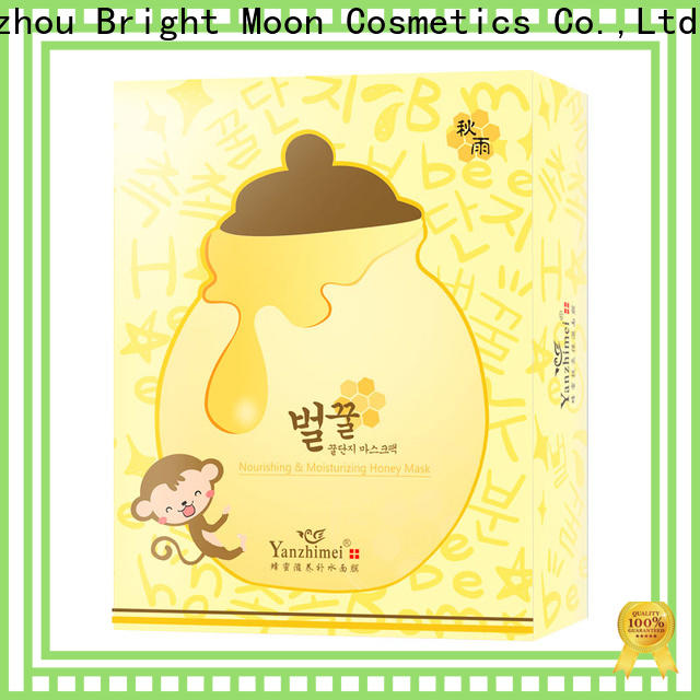Bright Moon cleansing face mask sheet company for ladies