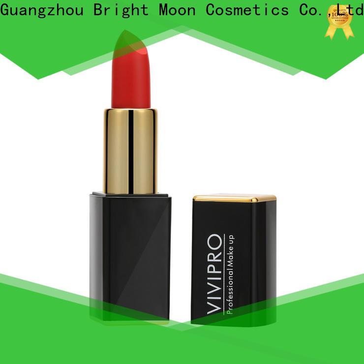 Custom matte lipstick makeup highgrade supply for girls