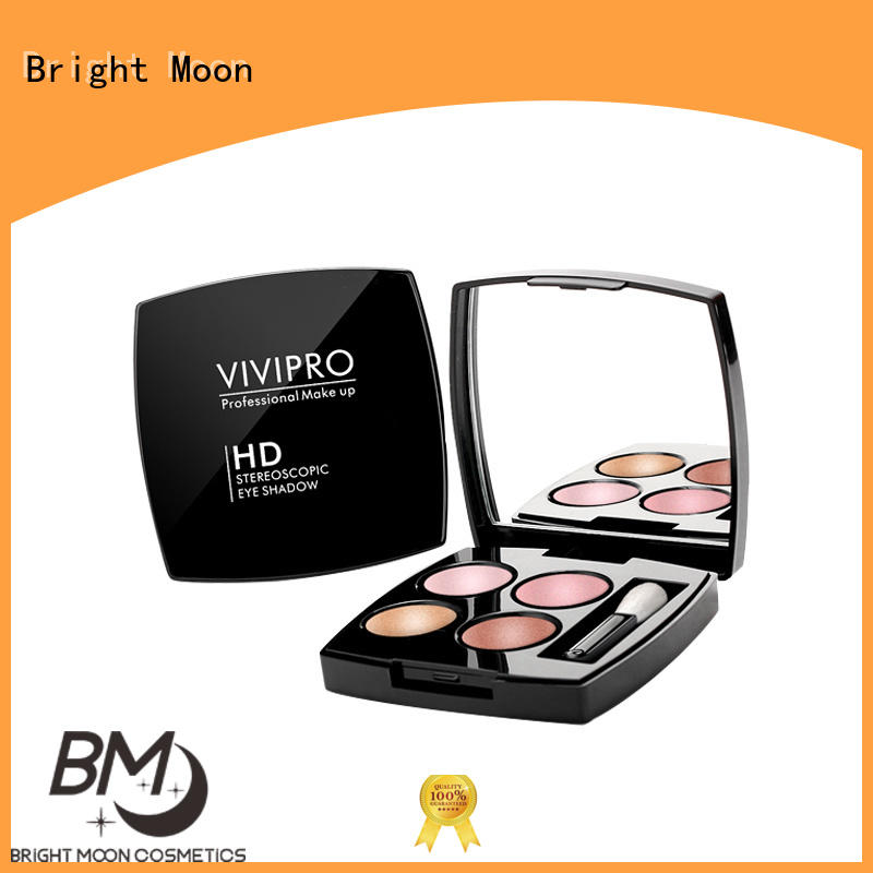 Bright Moon stereoscopic waterproof eye makeup supply for facial cleansing