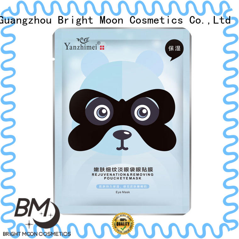 silk eye skin care products trade partner facial cover Bright Moon