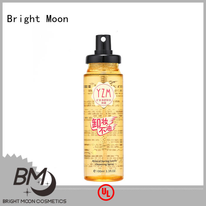 Bright Moon thermal water oil based makeup remover supply for importer