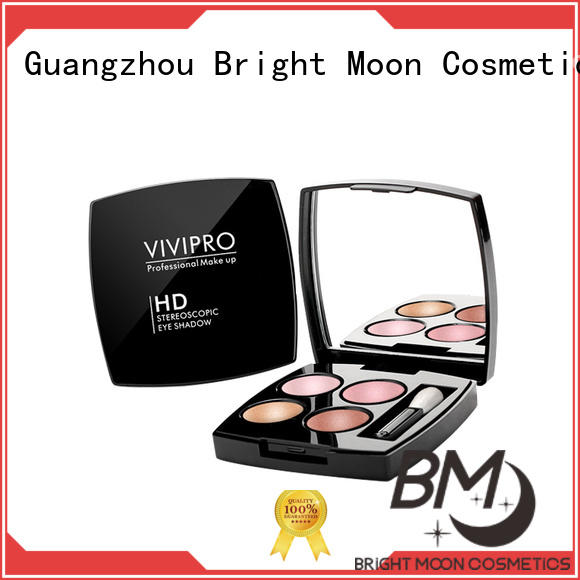 100% original eye makeup brushes factory for facial cleansing Bright Moon