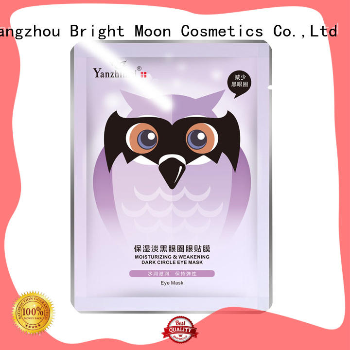 Bright Moon closely fit eye treatment products suppliers for cosmetic industry