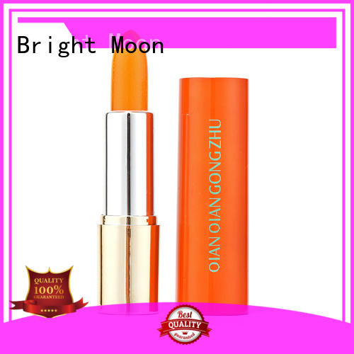 Bright Moon multi-colored long stay lipstick magnet tube for lips