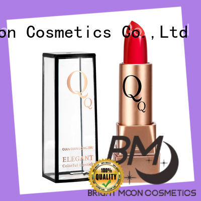best qualitymatte lipstick makeup crystal manufacturer for ladies