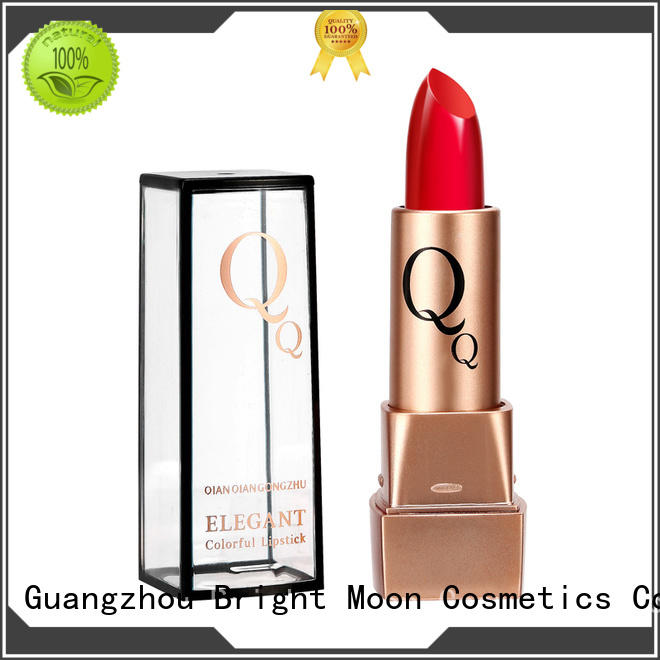 Bright Moon tube long stay lipstick suppliers for lips