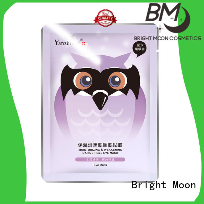 Bright Moon silk eye skin care products supply for cosmetic industry