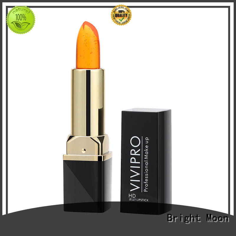Bright Moon 35g matte lipstick makeup company for ladies