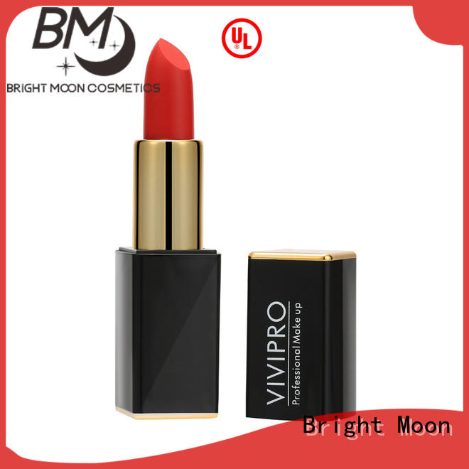 Bright Moon Custom matte lipstick makeup for business for girls