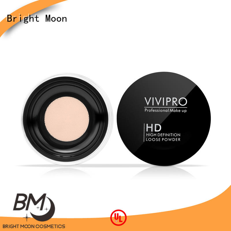 Bright Moon cosmetics makeup setting powder company facial cover