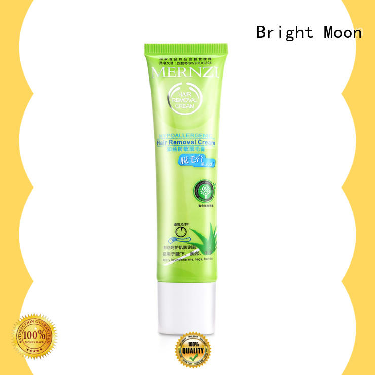 Bright Moon sensitive formula skin hair removal cream supply for face