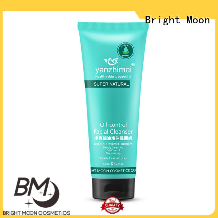 Bright Moon oilcontrol oil control face wash company for skincare