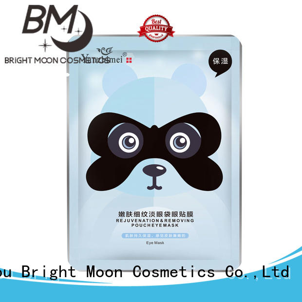 Bright Moon transparent eye skin care products manufacturers facial cover