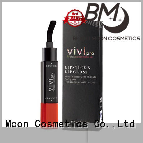 2 in 1 double sided lipstick lipgloss long lasting VIVI-1001
