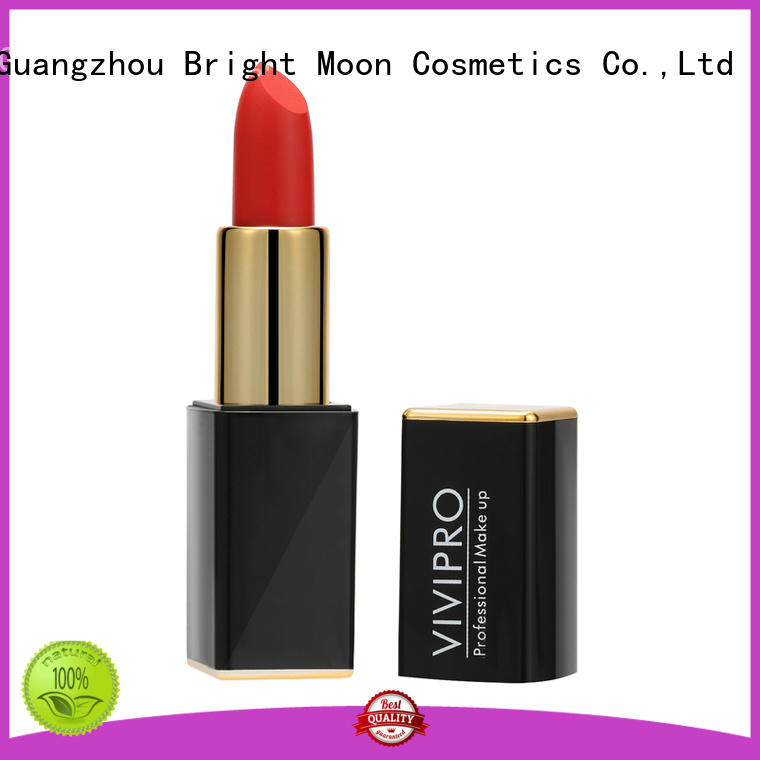 Bright Moon Custom long lasting waterproof lipstick suppliers for girls