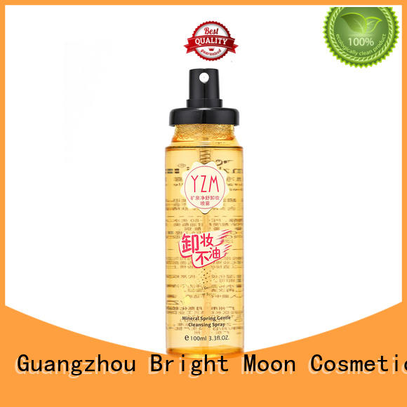 Custom oil free makeup remover thermal water company for cosmetic industry