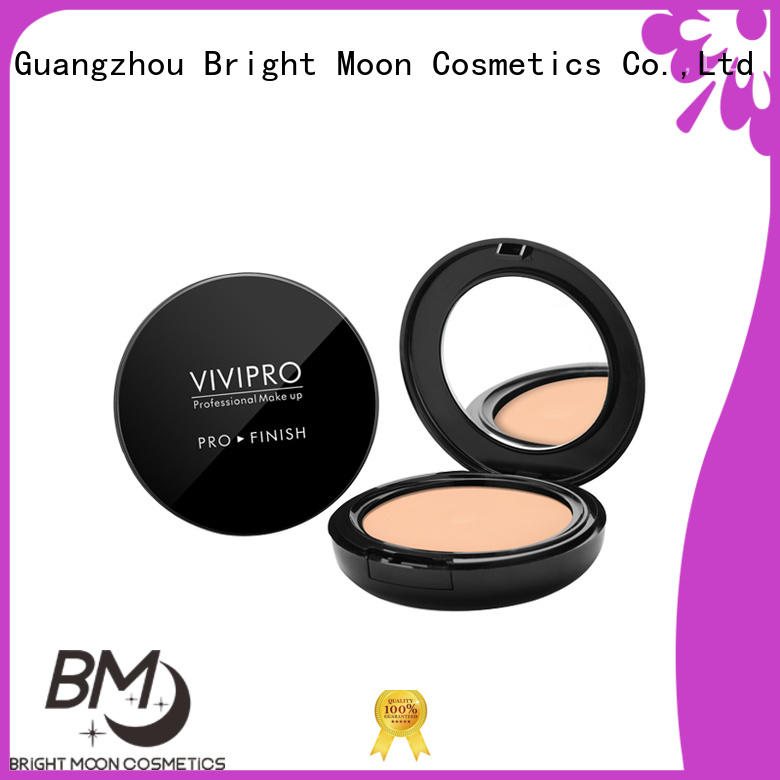Bright Moon professional good coverage foundation single color for cosmetic industry